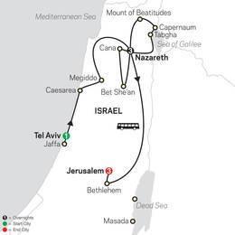 Holy Land Discovery FaithBased Travel - Catholic Itinerary (53202020)