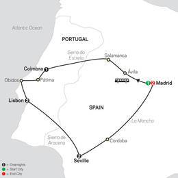 Lisbon, Seville and Madrid (67902020)