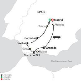 Madrid and Southern Spain (68902020)