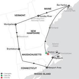 Classic New England with 400th Mayflower Sailing (81052020)