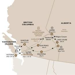 Majesty of the Rockies With GoldLeaf Service, Summer 2020