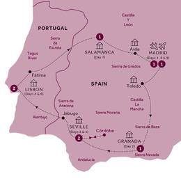 Amazing Spain and Portugal (Winter 2019 2020)