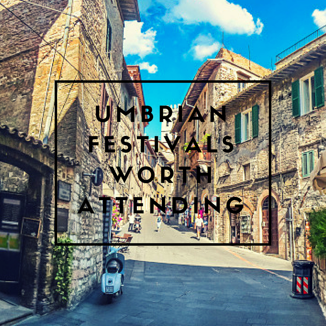 Umbrian Festivals Worth Attending