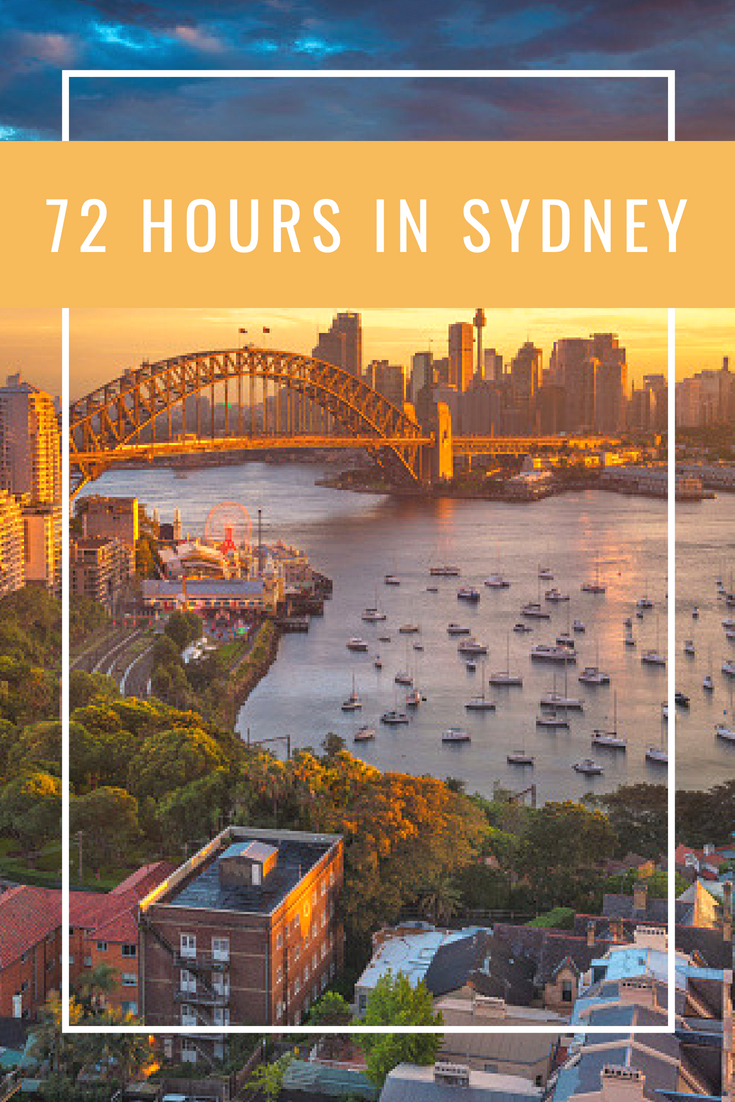 72 Hours In Sydney
