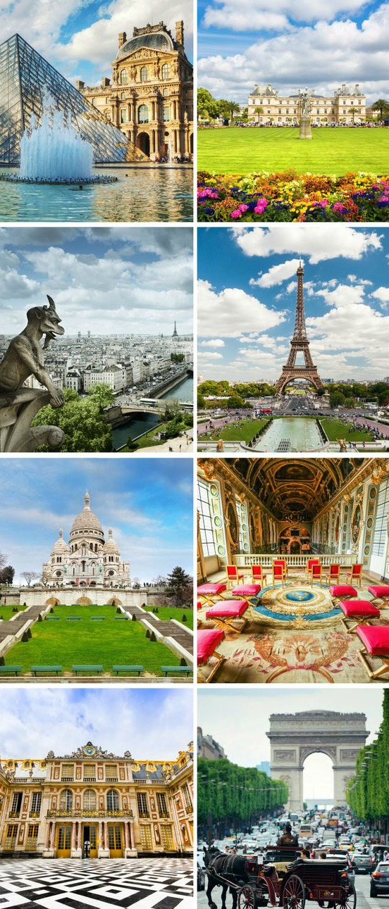 Top Monuments of Paris