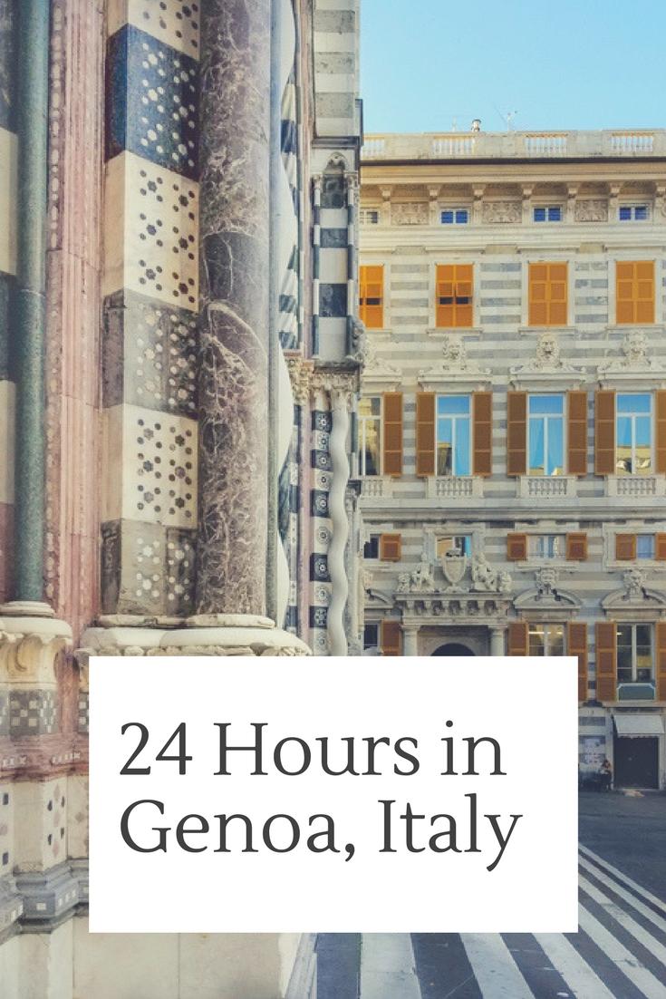 24 Hours in Genoa, Italy