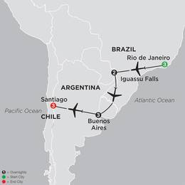Brazil, Argentina and Chile Unveiled (11002020)