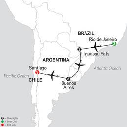 Brazil, Argentina and Chile Unveiled (11002021)