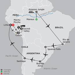 Brazil, Argentina and Chile Unveiled with Brazils Amazon and Peru (11082020)
