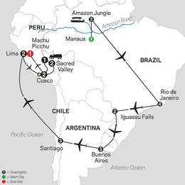Brazil, Argentina and Chile Unveiled with Brazils Amazon and Peru (11082021)