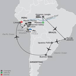 Ultimate South America with Brazils Amazon (12022020)