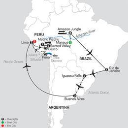 Ultimate South America with Brazils Amazon (12022021)