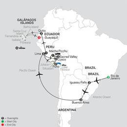 Ultimate South America with Galapagos Cruise (12052021)