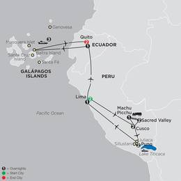 Mysteries of the Inca Empire with Galapagos Cruise (13052020)