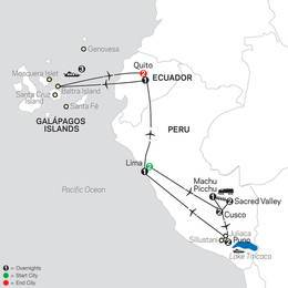 Mysteries of the Inca Empire with Galapagos Cruise (13052021)