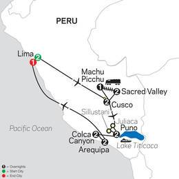 Mysteries of the Inca Empire with Arequipa and Colca Canyon (13062021)