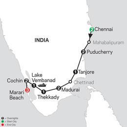 Discover Southern India and Kerala with Marari Beach (26472020)
