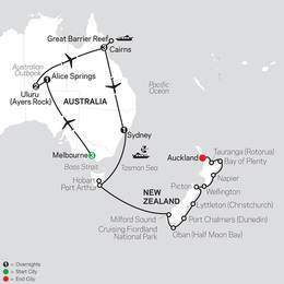 Highlights of Australia with New Zealand Cruise on February 5, 2020 (33512020)