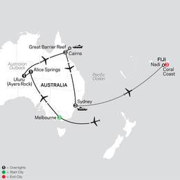 Highlights of Australia with Fiji (33582020)