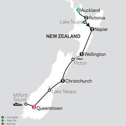 Highlights of New Zealand (33602020)