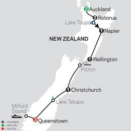 Highlights of New Zealand (33602021)
