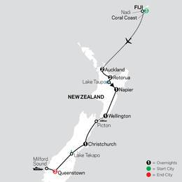 Highlights of New Zealand with Fiji (33652022)