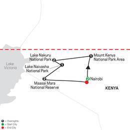 On Safari in Kenya with Nairobi (35042020)