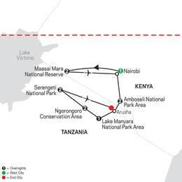 On Safari in Kenya and Tanzania (35502021)