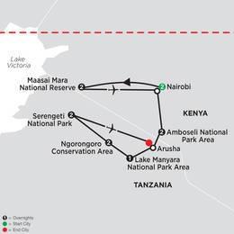 On Safari in Kenya and Tanzania with Nairobi (35532020)