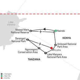 On Safari in Kenya and Tanzania with Nairobi (35532021)