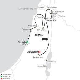 Holy Land Discovery FaithBased Travel Catholic Itinerary (53202022)