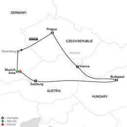 Prague, Vienna and Budapest (60502021)