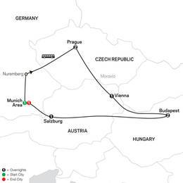 Prague, Vienna and Budapest (60502022)