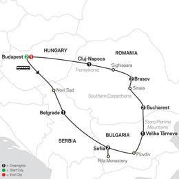 Treasures of the Balkans and Transylvania (67102020)