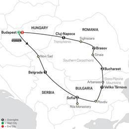 Treasures of the Balkans and Transylvania (67102021)