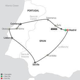 Lisbon, Seville and Madrid (67902021)