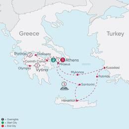 Greece Explorer and Aegean Islands Cruise (78052020)