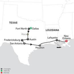 The Lone Star State to the French Quarter (80902021)