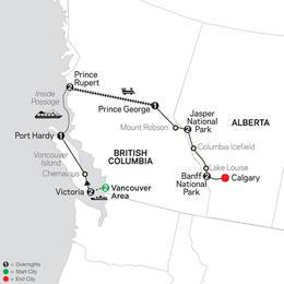 Western Canada with Inside Passage (83802020)
