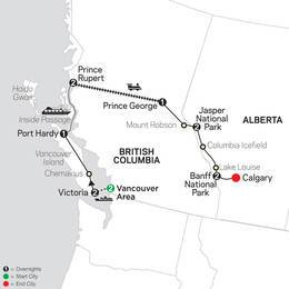 Western Canada with Inside Passage (83802021)