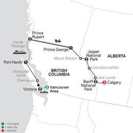 Western Canada with Inside Passage and Calgary Stampede (83852020)