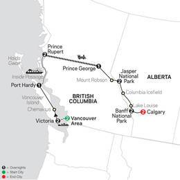 Western Canada with Inside Passage and Calgary Stampede (83852021)