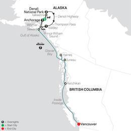 Grand Alaskan Adventure with Alaska Cruise (84252020)