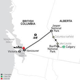 VIA Rail and the Canadian Rockies with Calgary Stampede (84702020)