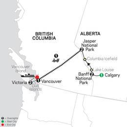 VIA Rail and the Canadian Rockies (89352020)
