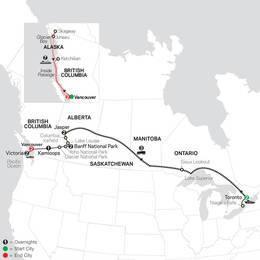 Canadian Train Odyssey with Alaska Cruise (89652020)