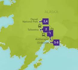 Disney Alaska Tour 2020
