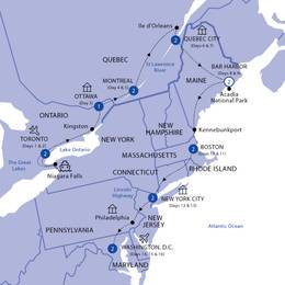 Best of Eastern Canada and USA Summer 2021