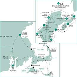 Boston Cape Cod and The Islands with Canada and New England Cruise Neptune Suite, Summer 2021