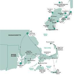 Boston, Cape Cod and The Islands with Canada and New England Cruise Vista Suite, Summer 2020